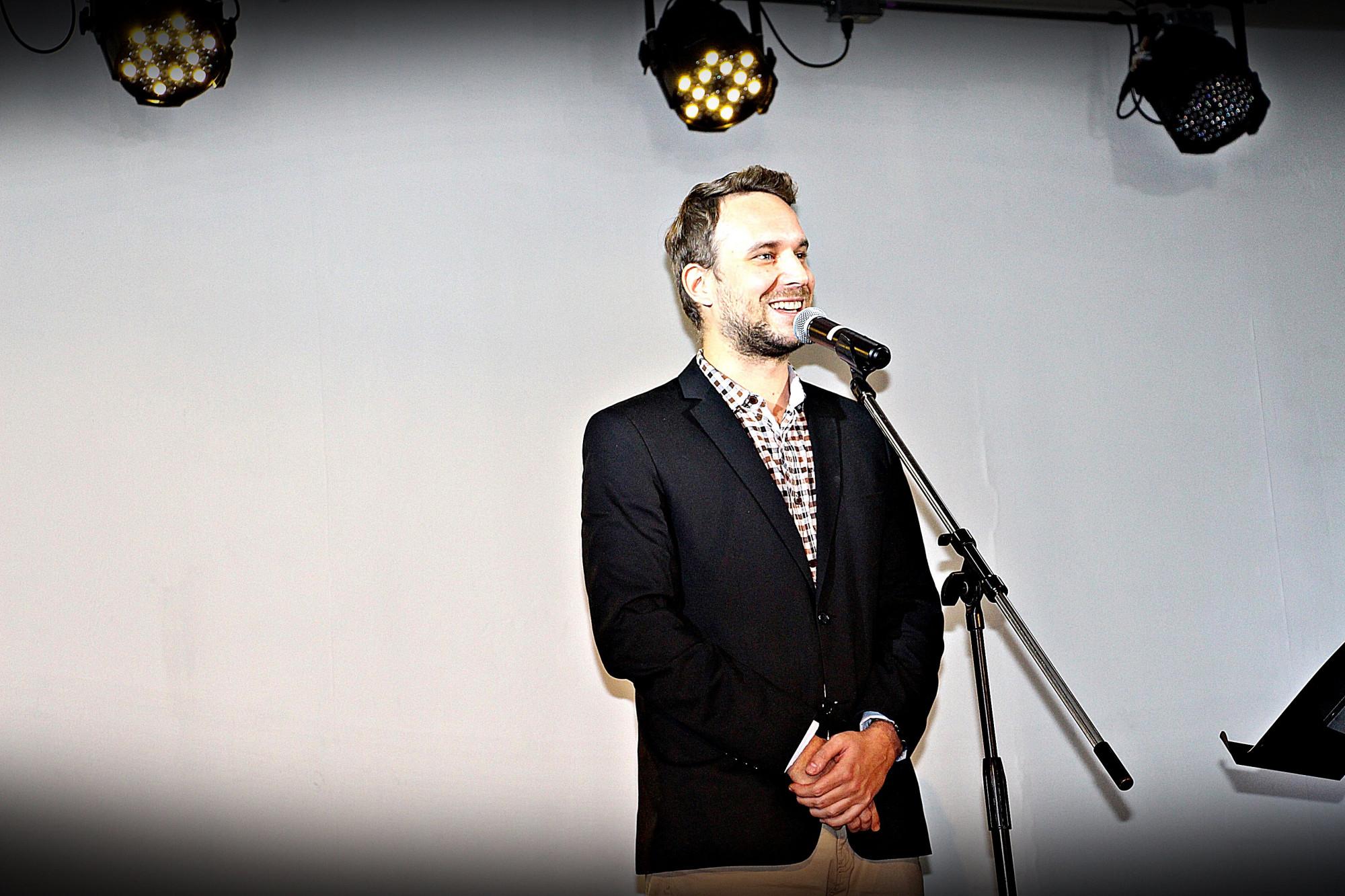 Indri Dániel műsorvezető