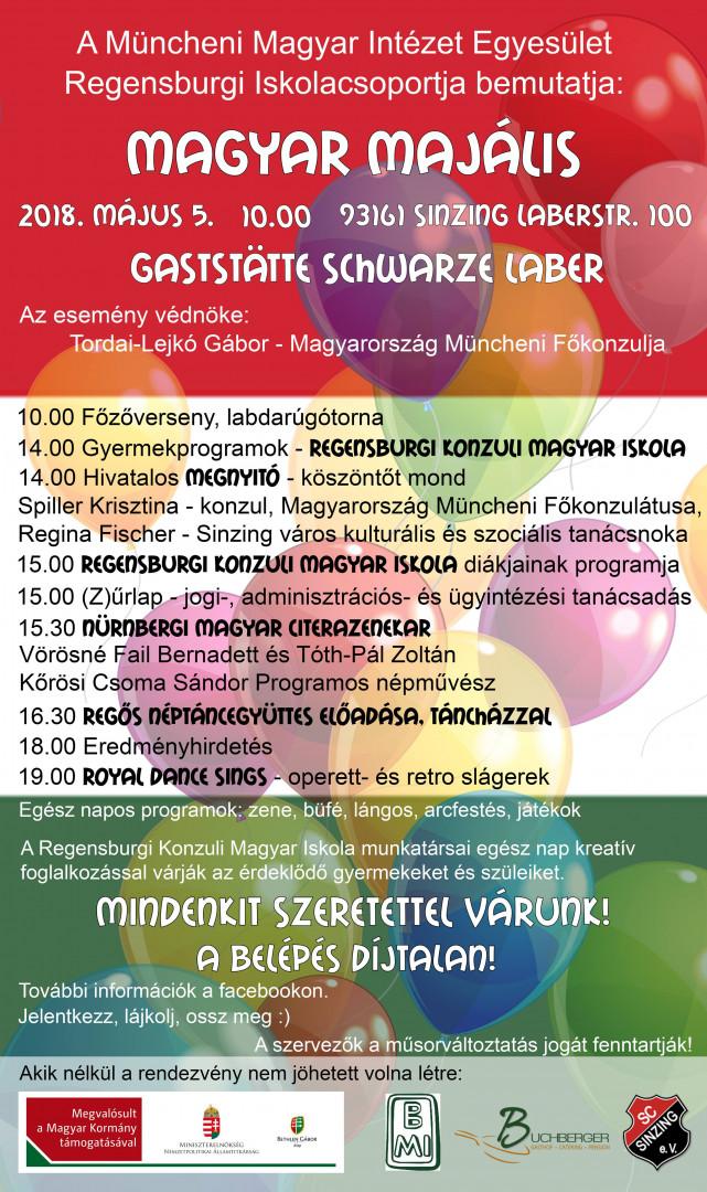 Magyar Majális plakát