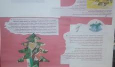 A magyar Mikulás ünnepség és karácsony hagyományai plakáton kiállítva