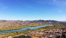 A Colorado folyó a magasból