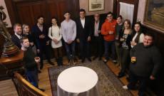 A Virtuózok látogatása az Ottawai Nagykövetségen