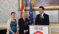 Március 15. a bécsi magyar nagykövetségen