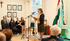 Norton Éva beszéde (fotó: Kelemen Lehel)