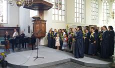 Hágai Magyar Énekkar és Gyermekkar a Lachegyi testvérekkel a Huygens fesztiválon