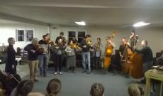 Táborzáró koncert - mesterek bandája