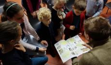 Gyermekfoglalkozás Lyonban