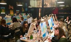 Magyar festőest Lisszabonban