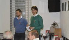 Dr. Müller Rolf előadó és Heil Kristóf KCSP ösztöndíjas Zürichben