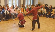 Baranta harcművészbemutató