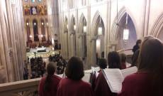 Mise az Almudena katedrálisban