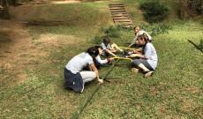 Bambuszvágás