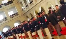 Az ünnepélyes diplomaátadó