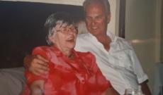 Diana nagymamája és unokatestvére aki Magyarországon maradt