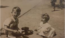 Diana nagymamája és unokatestvére Budapesten