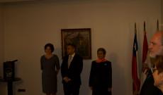 Megnyitó a Chilei Magyar Nagykövetségen