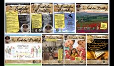 Az elmúlt irodalmi kávéházak plakátjai