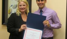 Fernando Rojo Michigan szenátusának díjával