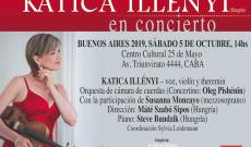 Illényi Katica Buenos Aires-i koncertjének plakátja