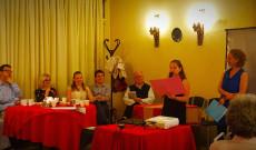 Mátyás király irodalmi est: Szí Andrea és Lara mesét mondanak