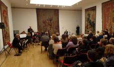 Dr. Székásy Miklós előadása a Buenos Aires-i  Szépművészeti Múzeumban