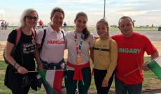 Az olimpián a friss aranyérmes cselgáncsozóval Özbas Szofival és Kiki családjával