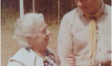 Cala Rózsika nénivel Filmore-ban a cserkészösszejövetelen