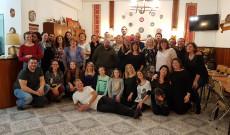 A 48. táncház résztvevői a Mindszentynum Kultúrházban