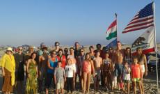 Cserkész évnyitó a Huntington tengerparton