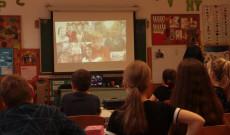 Budapesten a Virányos Általános iskola Schán Viktória tanárnővel