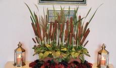 Szüreti-őszi dekoráció,amit Szőke Maggie mentorommal készítettünk el