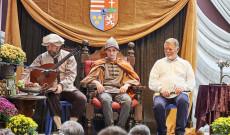 Áruhás Mátyás király és a Gaudium együttes