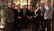Vendégeink a torontói konzulátus dolgozói