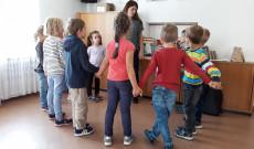 Foglalkozás Demeter Andrea tanárnő vezetésével