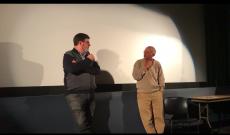 Az Oscar-díjas Deák Kristóf és Steven Kovacs a filmet követő Q&A-n.