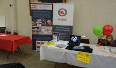Az Extra Hungariam Alapítvány bemutatkozó asztala a Torontói Magyar Ház Nyílt Napján 2020