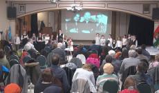 Interaktiv március 15-i ünnepség a kanadai Kossuth Házban.