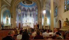 Tanévnyitó a templomban