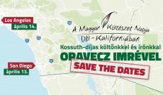 A dél-kaliforniai író-olvasó találkozó plakátja
