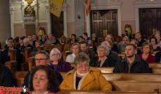 A nagyböjti orgonakoncert közönsége