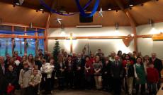 A Karácsonyi istentiszteleten megjelent személyek