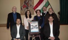 A műsor szereplői és a helyi magyar szervezetek képviselői