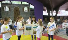 Gyerekek záróműsorából egy jelenet