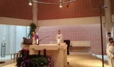 Merka János plébános atya Advent 1. vasárnapján