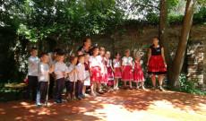 A délután folyamán felléptek az augsburgi Szent Piroska Hétvégi Magyar Óvoda növendékei is