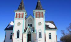 Békevári magyar református templom