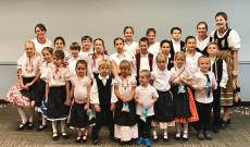 Az austini kis táncosok csoportképe