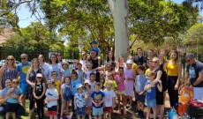 Csaba testvér látogatás a Magyar Iskolában Sydneyben