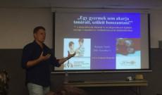 Reményi Tamás előadása tanulásról, viselkedésről