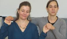 Csobánka Petra táncot tanít