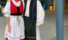 Kovássy Éva, cserkészcsapattiszt és fia,Kovássy István, a 54. sz. Hunor és Magyar fiú cserkészcsapat parancsnoka